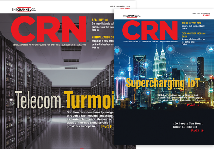 Technology Magazine Print Advertising Services | CRN