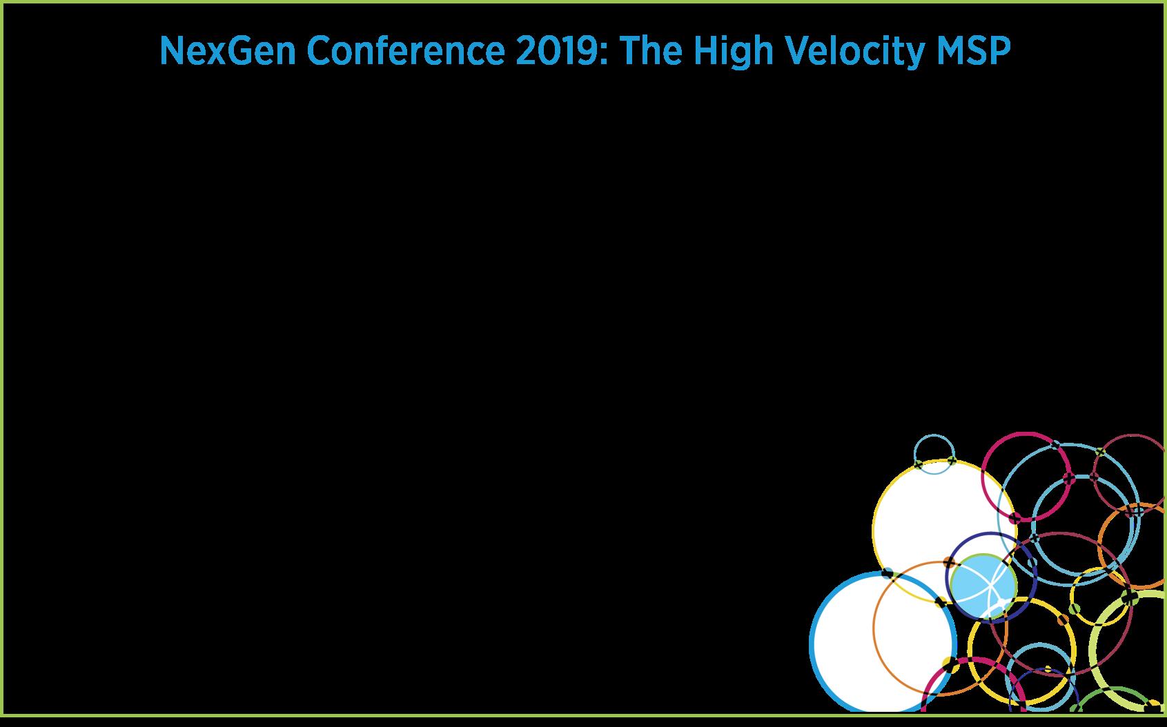 NexGen 2019 Conference