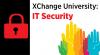XChange University IT Security