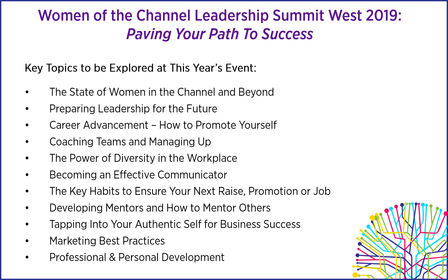 Women of the Channel Leadership Summit West 2019